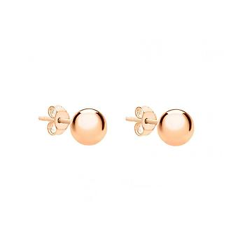 Eternity 9ct Rose Gold 4mm Ball Stud Earrings