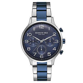 Kenneth Cole New York men's wrist watch analog quartz stainless steel KC15185003