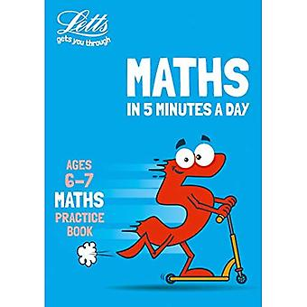 Letts Maths en 5 minutes par jour - Letts Maths en 5 minutes par jour Age 6-7 (Letts Maths en 5 minutes par jour)