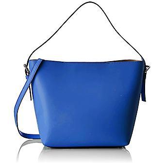 Chicca Bags 8698 Blue Women's shoulder bag (Blue) 33x26x13 cm (W x H x L)