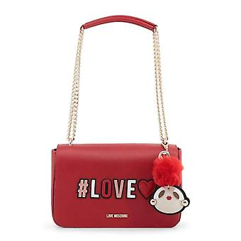 Love Moschino Women Red Shoulder bags -- JC40491824