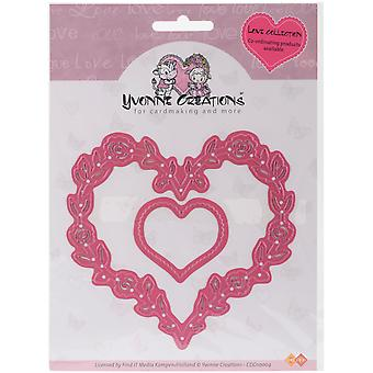 Find It Trading Yvonne Creations Love Die-Hearts