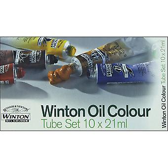 Winton Oil Paint 21Ml Tube 10 Pkg Assorted Colors 1490618