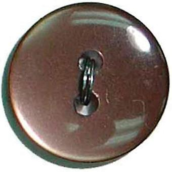 Slimline Buttons Series 1 Brown 2 Hole 5 8
