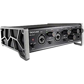 2-channel Microphone preamplifier Tascam US-2x2
