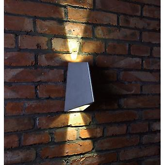 Wall lamp beam 4, 2 x 4 W COB LED, 15 + 60 degrees, 3000 K, IP54 10338