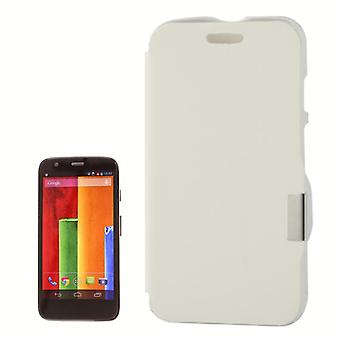 Cell phone cover case for Motorola Moto G / X 1032 white brushed