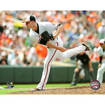 Mike Wright 2015 Action Photo Print