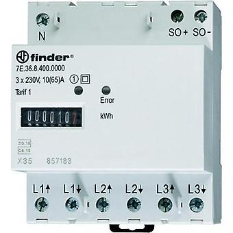 Finder 7E.36.8.400.0010 Counter rolls 999999.9 kWh -