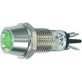 LED indicator light Green 24 Vdc SCI R9-115L 24 V GREEN