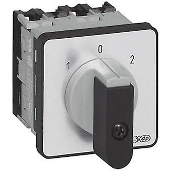 Changeover switch 16 A 2 x 30 ° Grey, Black BACO NC01GQ1 1 pc(s)