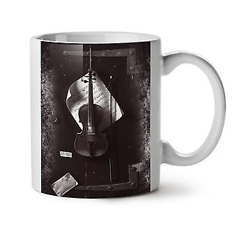 Classic Violin Music Instrument NEW White Tea Coffee Ceramic Mug 11 oz | Wellcoda