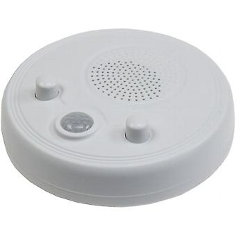 Wall & ceiling radio with PIR sensor ØxH 95x40mm, battery operation