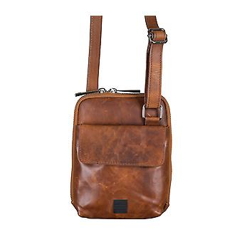 REPLAY bag shoulder bag man's Pocket shoulder bag Cognac 5094