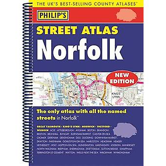Philips Street Atlas Norfolk 9781849074285 by Philips