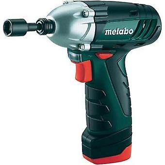 Metabo POWERMAXX SSD Cordless impact driver 10.8 V 1.5 Ah Li-ion incl. spare battery, incl. case