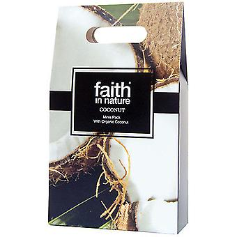 Faith In Nature Coco Travel Pack 3 x 100 (Woman , Hair Care , Conditioners and masks)