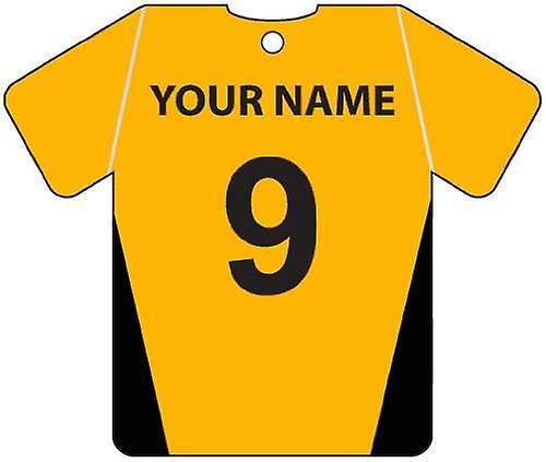 Gepersonaliseerde Barnet Football Shirt auto luchtverfrisser