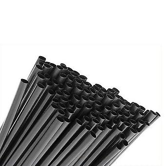 Negro calor Shrink tubo Cable de 1,6/0,8 manga cable protección 1m longitud