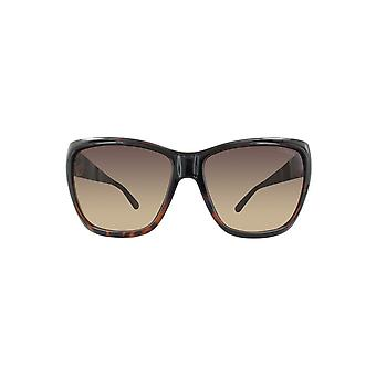 Guess ladies sunglasses GU7374-TO-57 tortoise / GRADIENT BROWN LENS
