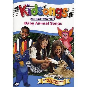 Kidsongs - Baby dyr sange [DVD] USA importerer