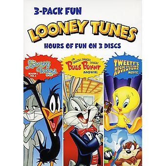 Looney Tunes 3 Pak Fun [DVD] USA import