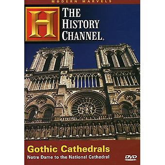 Modern Marvels: Gothic Cathedrals [DVD] USA import