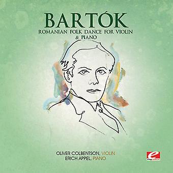 B. Bartok - rumano danza folklórica para la importación de los E.e.u.u. de violín y Piano [CD]