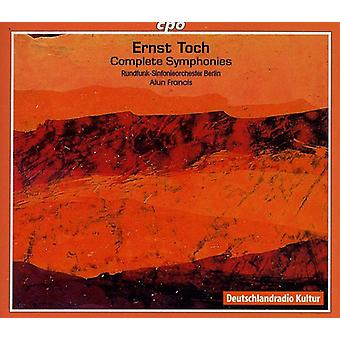 E. Toch - Ernst Toch: Complete Symphonies [CD] USA import