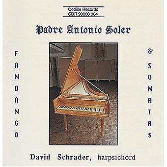 P.a. Soler - Padre Antonio Soler: Fandango & sonater [CD] USA import