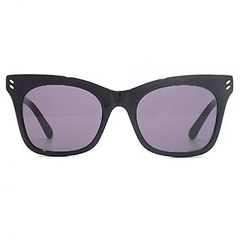 Stella McCartney Essentials Peaked Cateye Sunglasses In Black