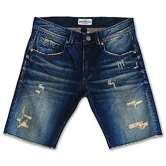 Klinknagel De Cru Lime crème Denim Shorts
