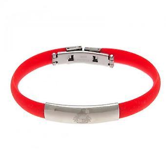 Sunderland färg silikon armband