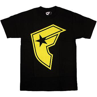 Famous Stars and Straps OG Boh T-shirt Black Yellow