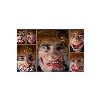Media máscara de máscaras divertidas