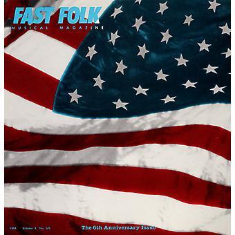 Rivista musica veloce Folk - Vol. 4-Fast Folk Musical Magazine (5) gli S.U.A. [CD] 6 importare