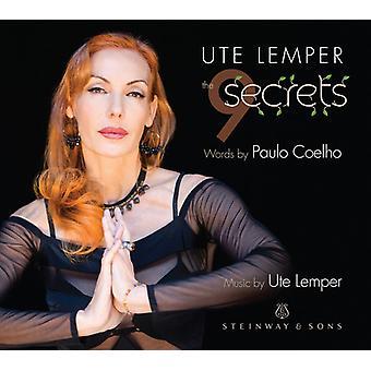 Ute Lemper - 9 hemmeligheder [CD] USA importerer