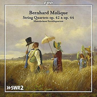 Molique / Mannheimer Streichquartett - Molique: String Quartets Opp 42 & 44 [CD] USA import