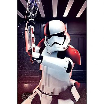 Star Wars The Last Jedi Poster Executioner Trooper 275