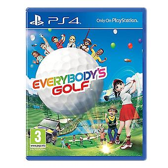 Everybody's Golf PS4 Game