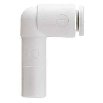 Pneumatic Elbow Tube-to-Tube Adapter, Push In Connection A 6mm, B 8mm