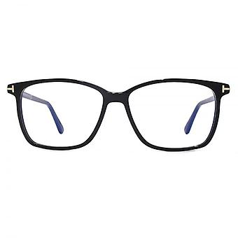Tom Ford FT5478-B Blue Filter Lens Glasses In Shiny Black