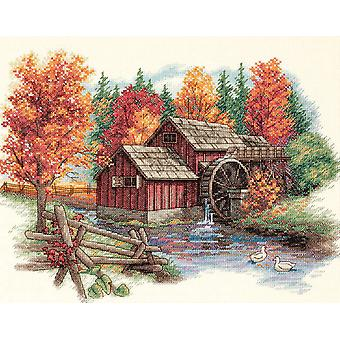 Glory Of Autumn Counted Cross Stitch Kit 14