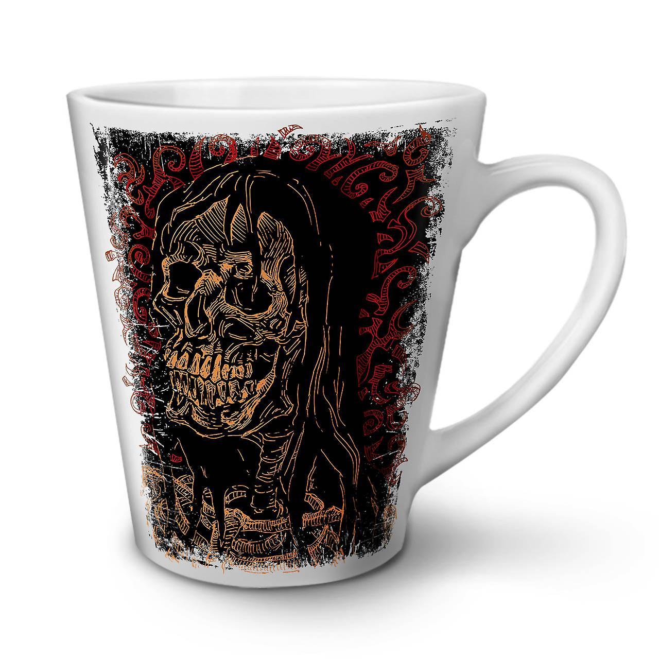 Death 12 Tasse Nouvelle OzWellcoda Céramique Latte Metal Café Blanche Inaugural En 2EYeD9bWIH