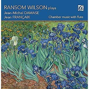 Damase, Jean Michael / Wilson, lösen - Ransom Wilson spelar Damase & Frangaix [CD] USA import