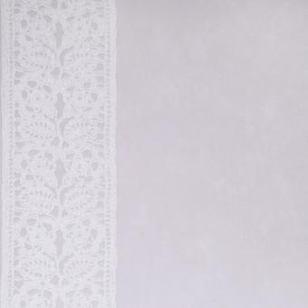 Designers Guild Grey Wallpaper Roll - Patterned Cabildo Design - Colour: P349-05
