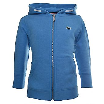 Lacoste Lacoste Kids Blue Hooded Sweatshirt