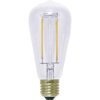 LED E27 Bulged 6 W = 40 W Warm white (Ø x L) 62 mm x 142 mm EEC: A+ Segula dimmable, Filament 1 pc(s)