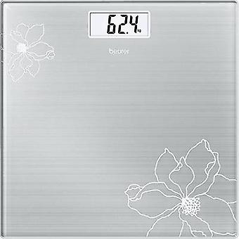 Digital bathroom scales Beurer GS 10 Weight range=180 kg Stainle