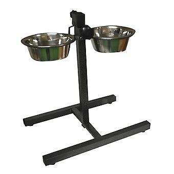 Nouveau en acier inoxydable anti dérapant chien lavable au lave-vaisselle bols d'alimentation